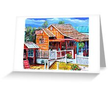 Temecula Wine and Beer Garden Greeting Card