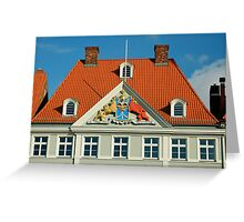 MVP22 Coat of Arms, Stralsund, Germany. Greeting Card