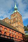 MVP17 Nikolai Kirche & Town Hall, Stralsund, Germany. by David A. L. Davies