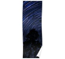 Wentworth Falls Star Trails Poster