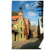 MVP04 Stralsund & Marienkirche, Germany. Poster