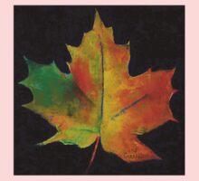 Red Maple Leaf Kids Tee