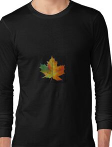 Red Maple Leaf Long Sleeve T-Shirt