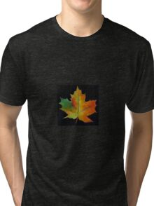 Red Maple Leaf Tri-blend T-Shirt