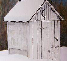 Snowed in Outhouse by AISI