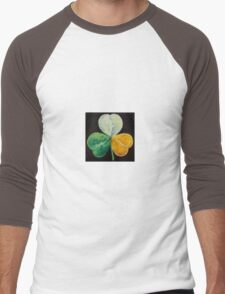 Irish Shamrock Men's Baseball ¾ T-Shirt