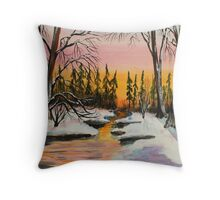 Tag Alder Creek Throw Pillow