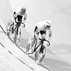 Womens Team Sprint Champions 2011 by Paul  Sloper