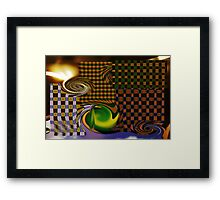 Chequers  Framed Print