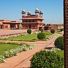 Fatehpur Sikri Courtyard by Nickolay Stanev
