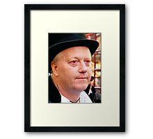 Red Eye? Framed Print