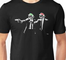 Plumber Fiction - Pulp Fiction x Super Mario Parody T-Shirt