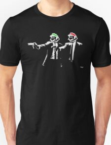 Plumber Fiction - Pulp Fiction x Super Mario Parody T-Shirt
