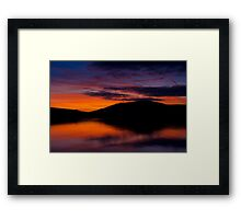 Dingle Sunset Framed Print