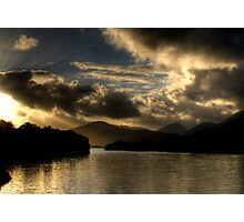 Lough Leanne Sunset Photographic Print
