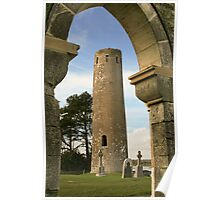 Clonmacnoise Tower & The Whispering Arch Poster
