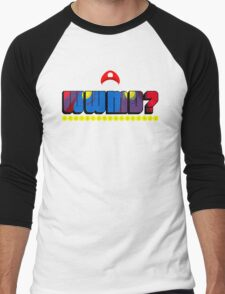 What Would Mario Do? Men's Baseball ¾ T-Shirt