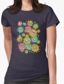 Splat Festival Womens Fitted T-Shirt