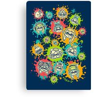 Splat Festival Canvas Print