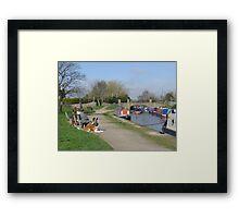 Trent & Mersey Canal, Willington Framed Print
