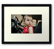 Annabelle Sure Loves to Drive - series [9] Framed Print