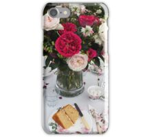 Still Life with Afternoon Tea iPhone Case/Skin