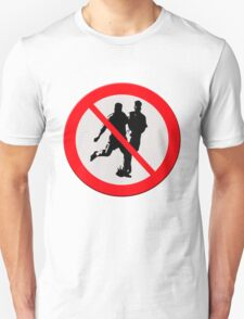 No football sign T-Shirt