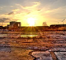 Sundown at Amager by Frostworld