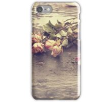 in the rain - one iPhone Case/Skin