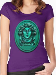 Madame L Headstone by Topher Adam Women's Fitted Scoop T-Shirt