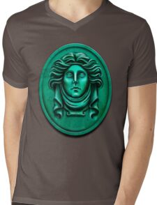 Madame L Headstone by Topher Adam Mens V-Neck T-Shirt