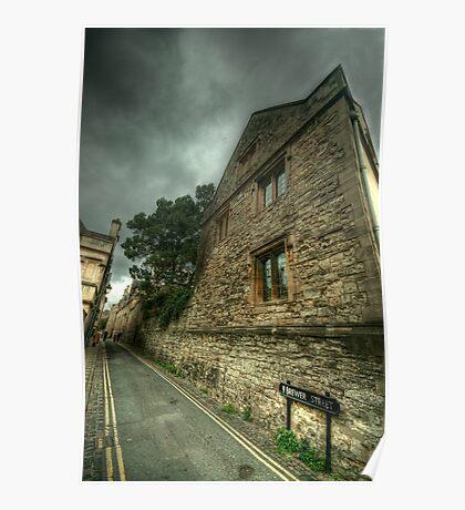 Brewer Street Oxford Poster