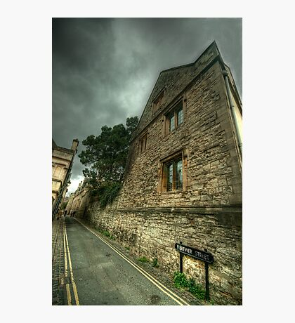 Brewer Street Oxford Photographic Print