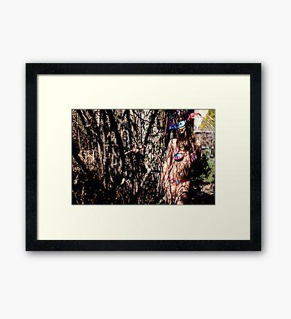Dark passage Framed Print