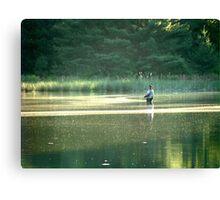 The Angler Canvas Print
