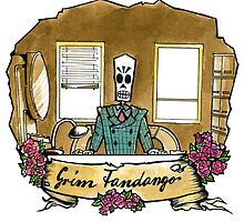 Grim Fandango by glas-onion