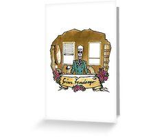 Grim Fandango Greeting Card