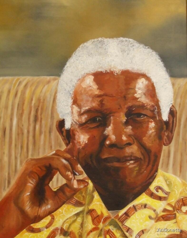 NELSON MANDELA by Antionette