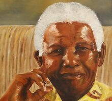 NELSON MANDELA by Antionette