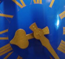 Bell Tower Clock Sticker