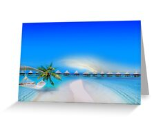 Dream Beach Greeting Card