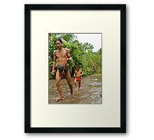 To Kill A Monkey. Framed Print