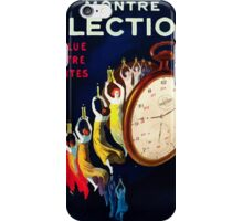 Leonetto Cappiello Affiche Montre Élection iPhone Case/Skin