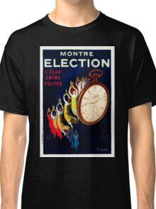Leonetto Cappiello Affiche Montre Élection Classic T-Shirt