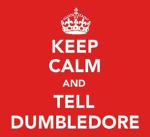 Keep Calm and Tell Dumbledore by loveaj