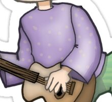 One day I'm gonna be Eric Clapton! Sticker
