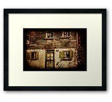 at home at no. 44 Framed Print