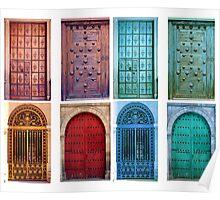 Vintage doors Poster