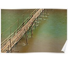 Bamboo Bridge. Poster