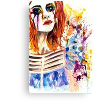 cry  Canvas Print